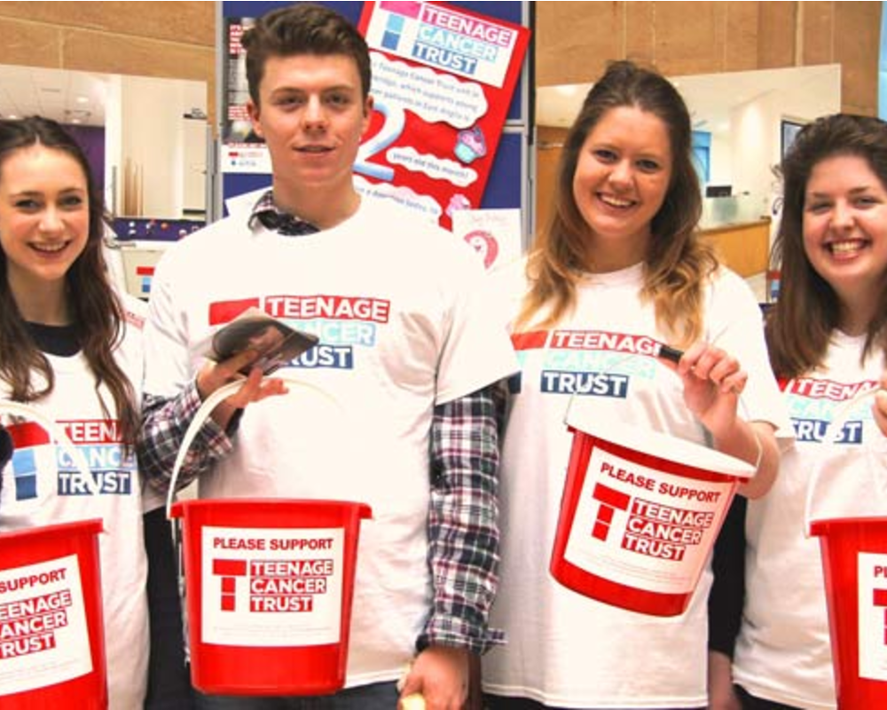 Shining a light on Teenage Cancer Trust Cymru