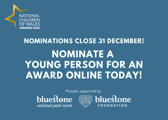Last call for nominees for National Children of Wales Awards
