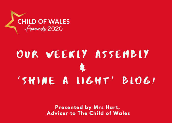 Our weekly assembly and 'Shine a Light' blog
