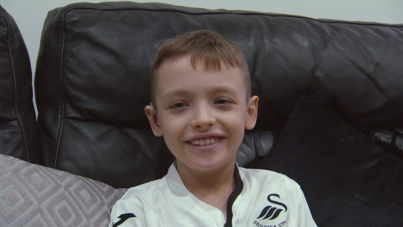 Child of Courage winner – under 13 years of age McKenzie John